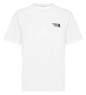 Vetements White Cotton Limited T-Shirt
