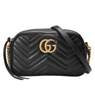 Gucci GG Marmont small matelass� shoulder bag