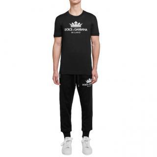 Dolce & Gabbana Black Milano T-Shirt
