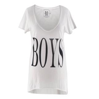 Zoe Karssen White Cotton Boys T-shirt