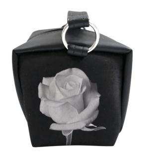 Samo Ondoh Rose Print Neoprene Cube Bag