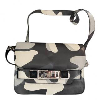 Proenza Schouler Multicoloured PS1 Camo Crossbody Bag