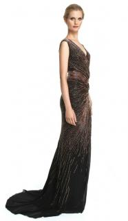 Roberto Cavalli Embellished Sleeveless Gown