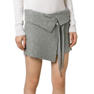 Isabel Marant Etoile alpaca-virgin wool blend Lyneth skirt