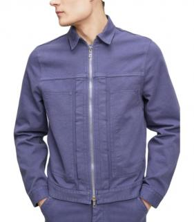 Officine Generale Indigo Mens Denim Jacket