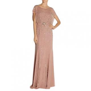 Jenny Packham Blush Embellished Gown