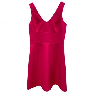 MIchael Michael Kors Pink Satin Mini Dress