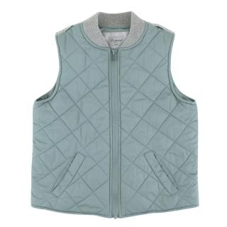 Bonpoint Kids 8Y Blue Padded Gilet