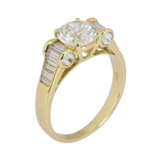 David Morris Diamond Set Dress Ring