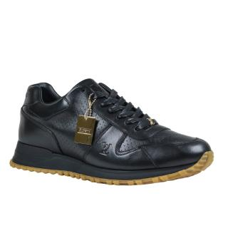 Supreme x Louis Vuitton Black Run Away Sneaker