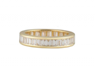 Bespoke Yellow Gold Diamond Eternity Ring