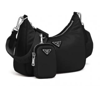 Prada Re-Edition 2005 black nylon bag