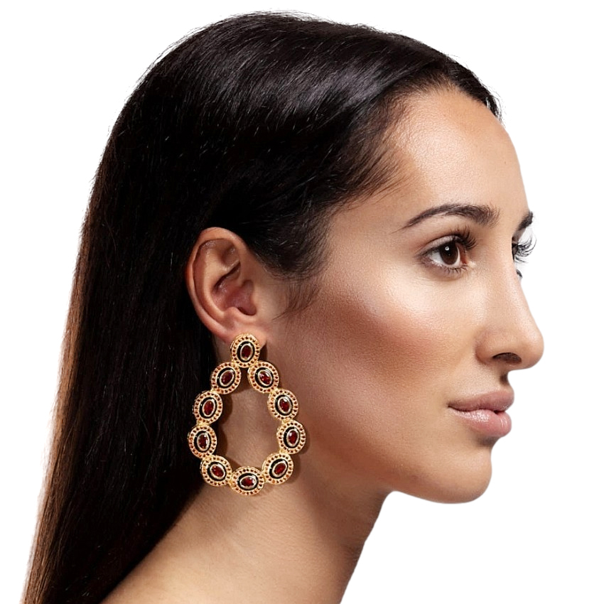 Opuline Bonita Rania Collection Drop Earrings