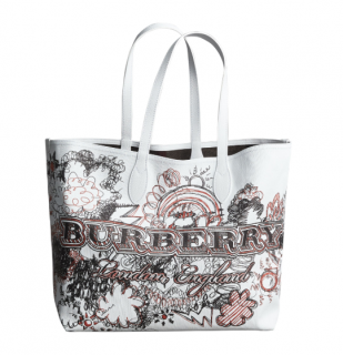 Burberry Limited Edition Doodle Reversible Bag