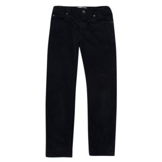 Bonpoint Navy Corduroy Girls Trousers