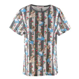 Olympia Le-Tan x Disney Alice in Wonderland T-Shirt
