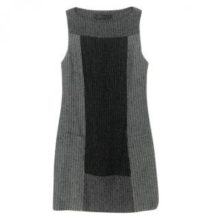 Proenza Schouler Tweed A-Line Sleeveless Dress