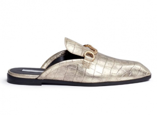 Stella Mccartney Tanka Alter Crocodile Slide Loafers