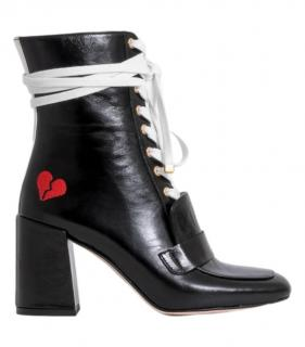 Havva xoxo Lace-Up Ankle Boots