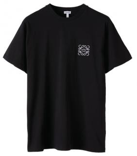 Loewe Black Anagram Logo T-shirt
