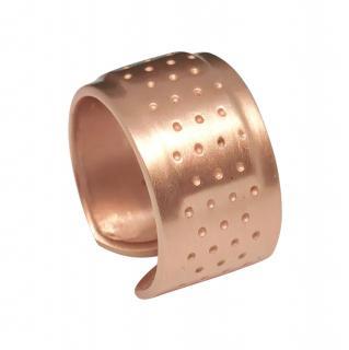 Roberto Marroni Rose Gold Plaster Ring