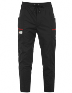 Gucci Black Web Nylon Tracksuit Pants