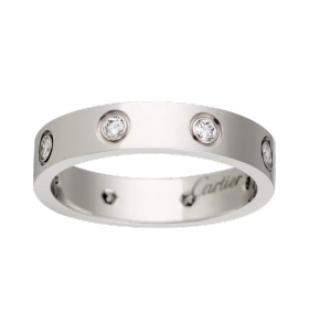 Cartier 18ct White Gold Full Diamond Ring