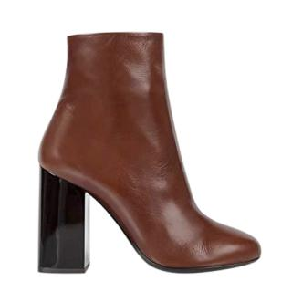 Paul Smith Bi-Colour Embossed Eileen Ankle Boots