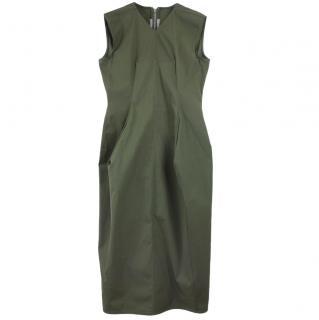 Rick Owens Khaki Sleeveless Dress
