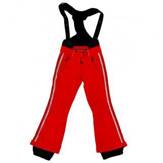 Frauenschuh Red Stretch Ski Trousers pants Salopettes