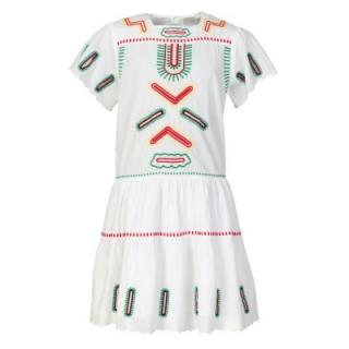 Stella McCartney Kids 12Y White Embroidered Dress