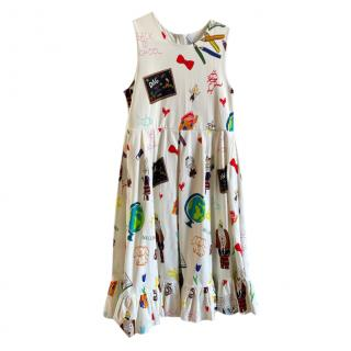 Dolce & Gabbana Patches Print Kids 12Y Dress