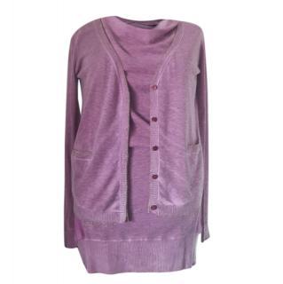 Marella Lilac Wool Twinset