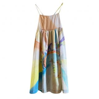 Stella McCartney Kids 12Y Painted Sleeveless Dress