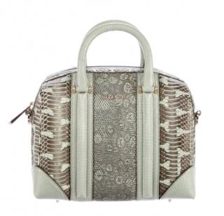 Givenchy Lizard & Python Lucrezia Duffle Bag