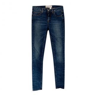 Victoria Beckham Jeans Skinny Blue Jeans
