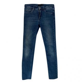Victoria Beckham Blue Skinny Jeans