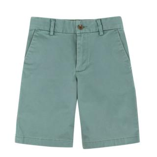 Polo Ralph Lauren Boys Mint Green Cotton Oxford Shorts