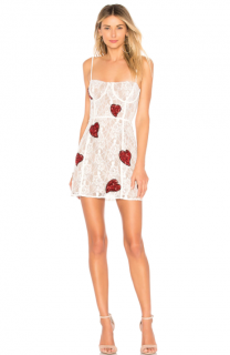 For Love & Lemons La Christy Mini Dress