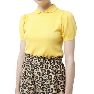 Shrimps Yellow Wool Clemence Knit Jumper