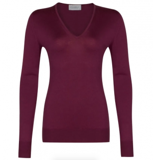 John Smedley Orchid Autumn Collection Merino Wool Jumper