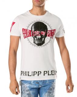 Philipp Plein White Squeeze-It Air Force T-shirt