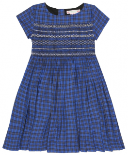 Bonpoint Kids 6Y Duchesse checked dress
