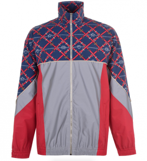 Gucci Panelled GG Belt print Track Jacket
