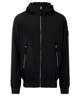 Stone Island Black Soft Shell-R Jacket