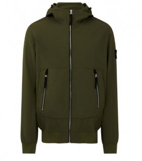 Stone Island Khaki Soft Shell-R Jacket