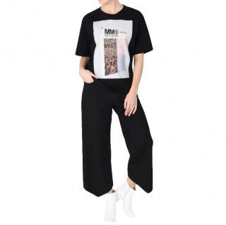 MM6 Maison Margiela Printed Cotton T Shirt