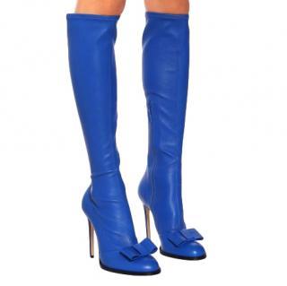 Victoria Beckham Quartz 115 leather knee-high boots