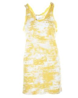 3.1 Phillip Lim Yellow & White Printed Vest