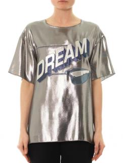 Lanvin Dream Metallic T-Shirt